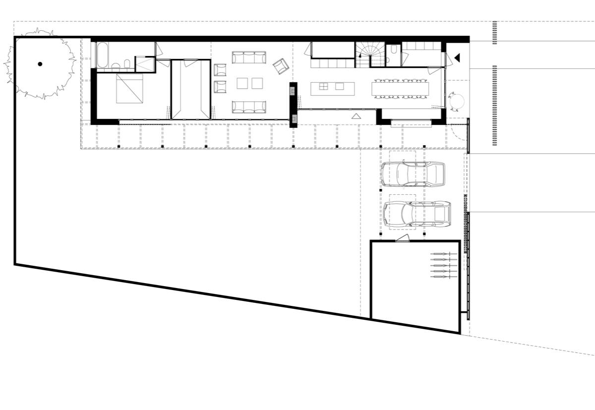 Element A_The Wooden House with Two Verandas_plan00