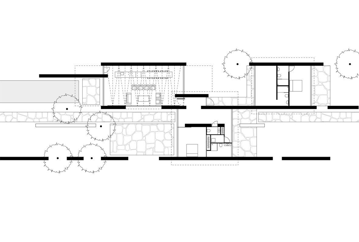 Element A_House with Stone Walls Senegal_plan