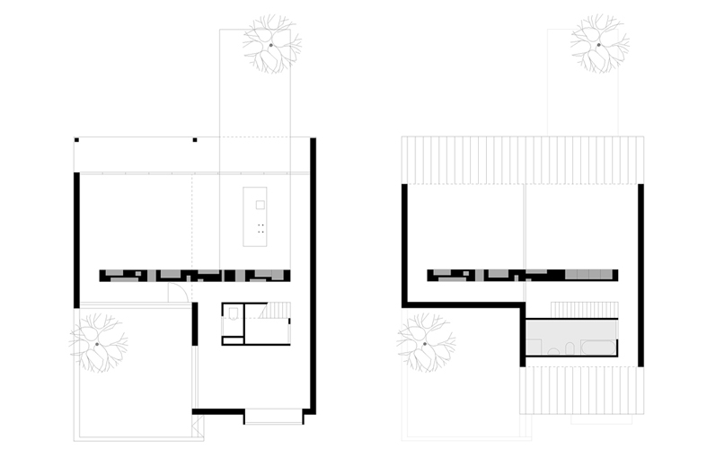 Element A_Wooden House with massive wall_plans